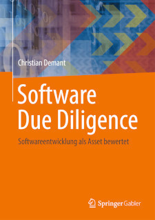 Cover Fachbuch Software Due Diligence