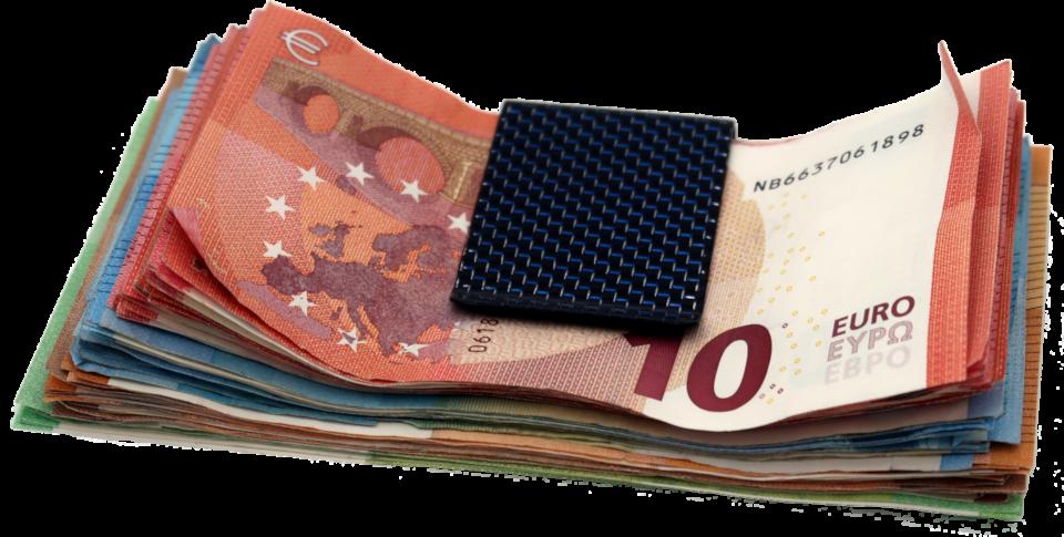 Bündel mit Geldscheinen